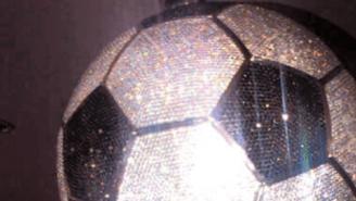 Real Madrid Star Karim Benzema Splurged On A $250,000 Diamond-Encrusted Soccer Ball