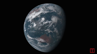 Check Out Satellite Video Of Twin Typhoons Racing Through The Pacific Ocean