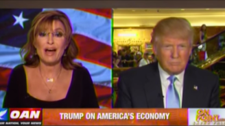 The Sarah Palin Interview With Donald Trump Keeps The Focus On The 'Idiots'