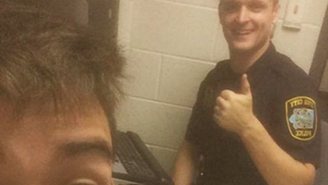 This Stoned Kid Took A Selfie With The Officer Who Arrested Him For DUI