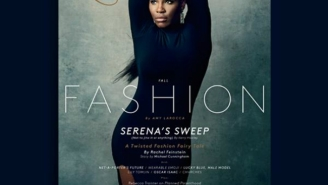 Serena Williams Is On The Cover Of The Latest Issue Of New York Magazine