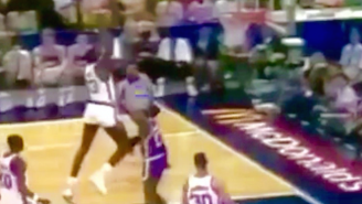 Watch Shaquille O'Neal Go Coast-To-Coast For A Soaring Slam In The McDonald's All-American Game
