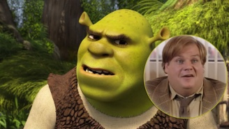 Here's Early Footage Showing Chris Farley Playing Shrek From 1997
