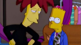 Maybe Sideshow Bob Likes Having Bart Simpson Around