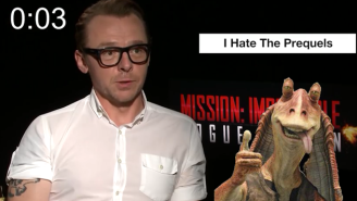 Simon Pegg Really, Really Hates The 'Star Wars' Prequels