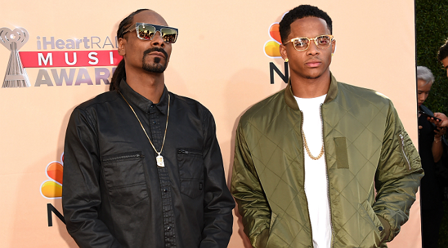 snoop and son