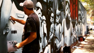 This Awesome 'Star Wars: The Force Awakens' Mural Has Popped Up In Mexico