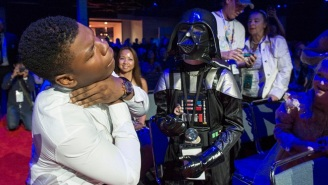 John Boyega Was Force-Choked By A Little Darth Vader At D23 (And Other Cute Photos)