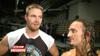 Stephen Amell Commented On His WWE Debut, And Whether Or Not The Feud With Stardust Is Over