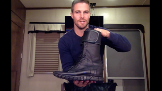 Stephen Amell Revealed What He's Wearing To Wrestle At SummerSlam, And It's Perfect