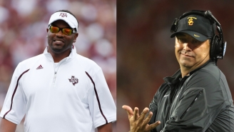 Kevin Sumlin Accidentally Tweeted This Joke About Steve Sarkisian's Rough Week