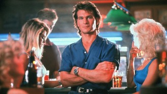 Let Patrick Swayze Show You How To Be A (Sensitive, Yet Throat-Ripping) Man