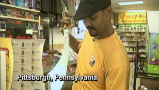 A Sword-Wielding Thief Was Scared Off By A Convenience Store Clerk Who Had A Bigger Sword