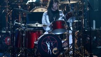 Watch Foo Fighters' Drummer Taylor Hawkins Destroy A Van Halen Cover In Ninth Grade
