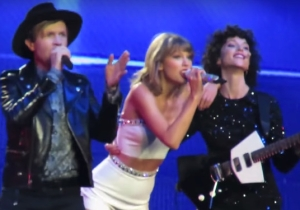 Watch Taylor Swift Induct Beck And St. Vincent Into Her Squad By Performing 'Dreams'