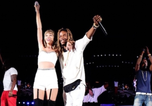 Watch As Taylor Swift Adds Fetty Wap And Ciara To Her '1989' Tour #Squad