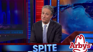 Watch How Arby's Paid Tribute To Jon Stewart's Exit From 'The Daily Show'