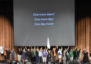 A Flash Mob Performed 'One More Day' During This Teacher Meeting In Iowa