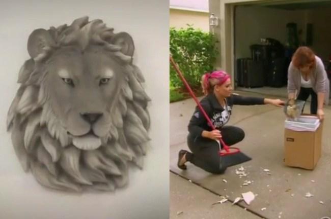that goddamn lion