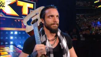 NXT's Elias Samson Has Drifted Onto The Injured List