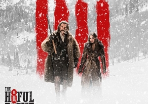 A New 'The Hateful Eight' Poster Introduces Kurt Russell And Jennifer Jason Leigh's Characters