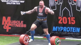 The Mountain From 'Game Of Thrones' Broke Records To Become Europe's Strongest Man