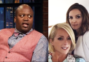 Tituss Burgess Talks About That Lip-Sync Video With Tina Fey