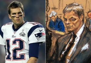 You Can Now Wear The Tom Brady Courtroom Sketch As A Skirt