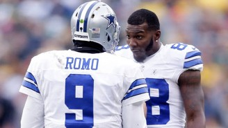 Tony Romo Weighs In On The Dez Bryant Practice Fight, And He's Not Happy At All