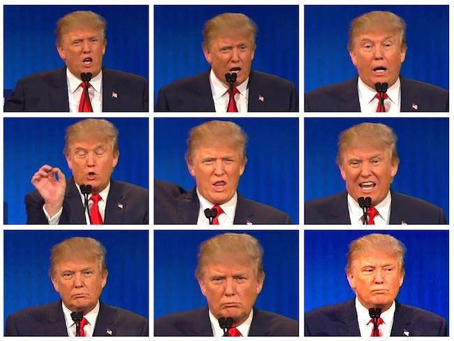 trump face