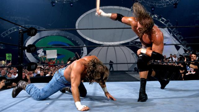 Shawn Michaels Vs. Triple H At SummerSlam 2002