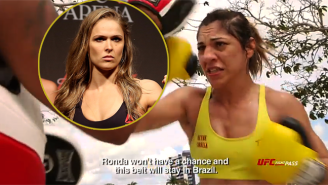 Bethe Correia Says Ronda Rousey 'Won't Have A Chance' In UFC 190's Main Event