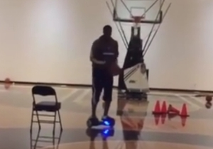 Watch Wesley Matthews Use A PhunkeeDuck As Part Of His Injury Rehabilitation