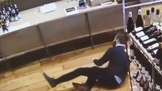 Watch This Impressive Wine Save By The Most Dedicated Liquor Store Employee Ever