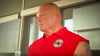 ESPN Surprised And Terrified Their Staffers By Having Brock Lesnar Work Security