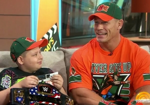 Brace Your Heart, Then Watch John Cena Grant His 500th Make-A-Wish On 'The Today Show'