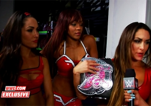 The Bellas And Paige Blasted Brooklyn For Their Reaction To Their Match On Last Night's Raw