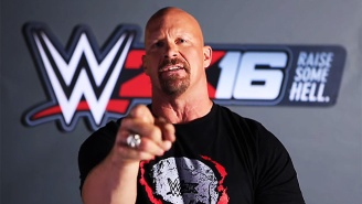 Check Out New 'WWE 2K16' Details And Steve Austin 'Welcoming' Arnold Schwarzenegger to The Game