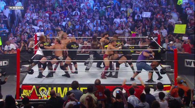 WWE vs. Nexus