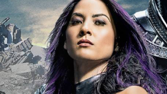 Olivia Munn shows off her impressive new Psylocke moves