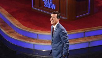 Review: Stephen Colbert tries to make his 'Late Show' seem new in debut