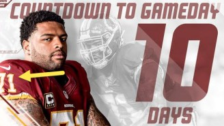 There Was A Glaring RGIII Omission On The Redskins' Twitter Countdown To Kickoff