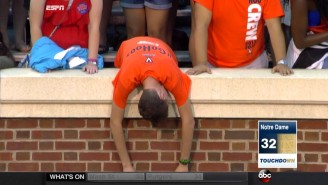 The Internet Is Losing Its Mind Over This Sad Virginia Fan