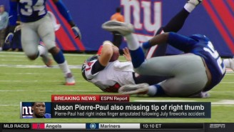 Jason Pierre-Paul Is Reportedly Missing More Than Just His Index Finger