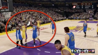 Watch Kobe Bryant Hilariously Steal A High-Five From Draymond Green In 'NBA 2K16'