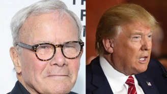 Tom Brokaw Had Some Pretty Harsh Things To Say About Donald Trump And Cable News