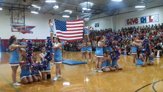 A Texas Cheerleading Squad Is Defending Their 9/11-Inspired Routine
