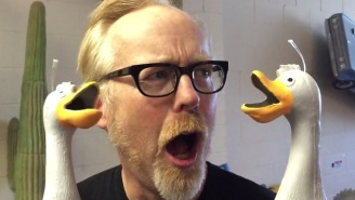 Adam Savage From 'MythBusters' Had Some Fun With The Screaming Duck Toys
