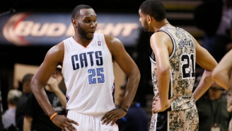 Here's How Tim Duncan Inspired Al Jefferson To Lose 25 Pounds This Offseason