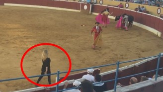 This Swedish Porn Star Protested A Bullfight By Jumping In The Ring